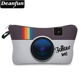 Camera Japan Australia - Deanfun Women Cosmetic Bags 3D Printed Camera Pattern Necessaries for Travel Makeup Storage 51048 #284517