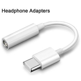 $enCountryForm.capitalKeyWord NZ - Earphone Headphone Jack Adapter 3.5mm Audio Aux Cable Earphones Converter Adapter for Cell Phone Huawei Xiaomi Earphone adapters