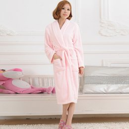 56d7a6b4660b Sexy men bath robeS online shopping - YJSFG HOUSE Women Men Flannel Bath Robe  Sleepwear Autumn