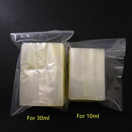 $enCountryForm.capitalKeyWord Australia - Heat PVC Shrink wrap film for 10ml 30ml e-juice e-liquid dropper Bottles clear pvc shrink sleeve seals heat shrinkable