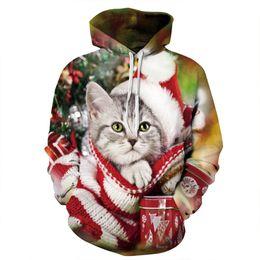 Hoodies Sweat Shirts Australia - Unisex Pullover Hoodies 3D Printed Cat Sweatshirts Hip Hop Sweat Shirt Men Streetwear Designer Sweatshirts Top