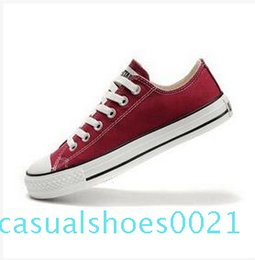 ladies sports canvas shoes Australia - 2020 new quality classic low waist and high waist canvas casual shoes sports shoes men's   ladies canvas shoes size EUR 35-46 retail c21