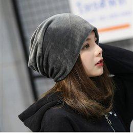 0bebdb6c3de85 Hip hop Winter Brand moon Hats For Woman 2018 New velvet Hat Girls Autumn Hat  Female Warmer Bonnet Ladies Casual Beanie