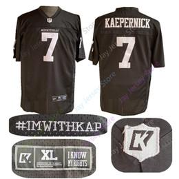 7c8293bb2 Black kaepernick jersey online shopping - 7 COLIN KAEPERNICK IMWITHKAP  Jersey IMWITHKAP IM WITH KAP Jersey
