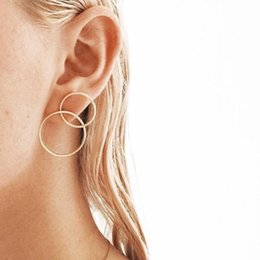 $enCountryForm.capitalKeyWord NZ - Popular fashion simple modeling trend 8-earring earrings women's jewelry Europe, America, Japan and South Korea new trend