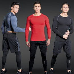 $enCountryForm.capitalKeyWord Australia - Sport Suit Men Gym Training Fitness Sportswear Workout Suits Running Jogging Sport Compression Clothing Tracksuit Mens Sports T2190615