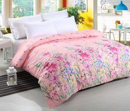 Floral Duvet Cover Floral Print Qulit Cover Full Size Comforter Cover Polyester Duvet Case size 200*230cm on Sale