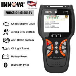$enCountryForm.capitalKeyWord Australia - Innova 7100P OBD2 Scanner OBD 2 Diagnostic Car Engine ABS SRS Airbag Oil Battery Auto Scan Tools US Warehouse Code Reader