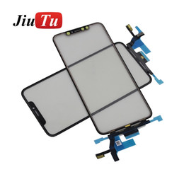 Lcd Glasses Lens Australia - Replacement LCD Touch Screen Front Glass With Touch Outer Lens For iPhone XS Max Touch screen Repair Part JiuTu