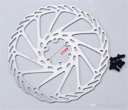 Road Bicycle Disc Brakes Australia - 180mm Disc Brake Rotors 6 Bolts Stainless Steel for MTB Mountain Road Bike Bicycle Parts Accessory free shipping