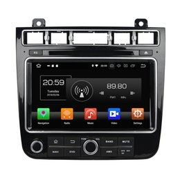 """Vw Mobile Australia - 1024*600 4GB RAM 64GB ROM Octa Core 2 din 8"""" Android 8.0 Car DVD Player for VW Volkswagen Touareg 2015 2016 RDS Radio GPS WIFI Bluetooth"""