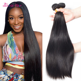 $enCountryForm.capitalKeyWord Australia - 8A Brazilian Virgin Human Hair Weave Straight Peruvian Indian Malaysian Cambodian Mink Remy Hair Extensions Bundles Natural Color Dyeable