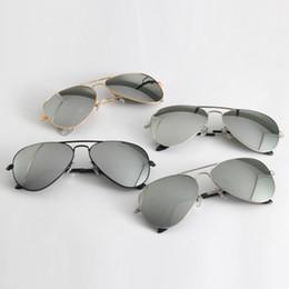 Lunettes Soleil Orange Australia - mens sunglasses pilot original design UV400 glass made lenses women sunglasses des lunettes de soleil free leather cases, accessories, box!