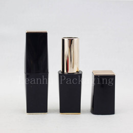 Blue Lipstick Gloss NZ - empty Dark Blue lip gloss containers with Magnet Cover, DIY lipstick cosmetic Tube, lip balm tube containers, lip stick tubes