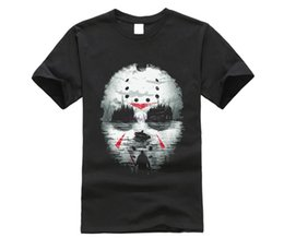 friday 13th jason mask UK - 2019 NEW men shirt FRIDAY THE 13TH JASON UNIQUE MASK SHIRT