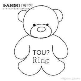 $enCountryForm.capitalKeyWord Australia - FAHMI 100% 925 Sterling Silver Classic Cute Bear Rings High Quality Original Jewelry Needs Real Pictures Contact Customer Service