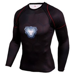 Jerseys Wolf Australia - Mens Compression Shirts 3D Teen Wolf Jerseys Long Sleeve T Shirt Fitness Men Lycra MMA Crossfit T-Shirts Tights Brand Clothing C13