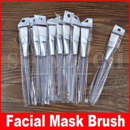plastic face mask beauty UK - Facial Mask Brush Women Lady Girl Face Mask Mud Mixing Skin Care Beauty Makeup Brushes Soft Face Eyes Makeup Cosmetic Tools