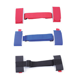 sport bag strap wholesale Canada - Winter Sports Skateboard Ski Board Straps Adjustable Shoulder Bag Handle Strap Snowboard Binding Tie Fastener Sling Belt