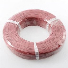 Silicone Cable Wire Australia - 10 meters lot wire silicone 10 12 14 16 18 20 22 24 26 AWG 5m red and 5m black color cable High Quality