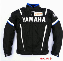 Moto Gp Black Red NZ - Summer Motorcycle Moto GP Jacket With Protector For YAMAHA M1 Racing Team Motocross Clothing Black Blue
