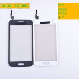I8552 Touch Screen UK - For Samsung Galaxy Win GT-i8552 GT-i8550 i8552 i8550 Touch Screen Panel Sensor Digitizer Front Glass Lens Touchscreen