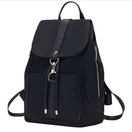 Discount girls hand bags new style - New Arrival Waterproof Drawstring Backpack Large Capacity Girls Sports Women Oxford Daypack Teen Student Shoulder Bags H