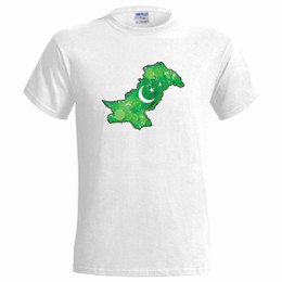 bacb37b73 Pakistan Flag Map Design MENS T SHIRT Country National pride proud Islamic  Islam FASTHOUSE Musically