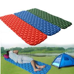 Relaxing Beds Australia - Ultralight Inflatable Air Mattress Bed CAMPING Picnic RELAX AIRBED MATTRESS Sleeping Pad Tent Moistureproof Pad Waterproof