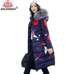 Parkas 2019 Winter Coat Women Korean Fashion Slim Hat Cotton Padded Clothes Big Hair Collar Thicker Parka Short Warm Jacket Female J15 Big Clearance Sale Jackets & Coats