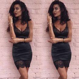 Vestiti della donna di buona qualità di nuova estate sexy delle donne della fasciatura Bodycon Cocktail Party Club Mini breve vestito in Offerta