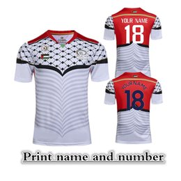 Wholesale 2017 Palestine RUGBY HOME JERSEY size S XL Palestine Rugby League jersey Print name and number Top quality