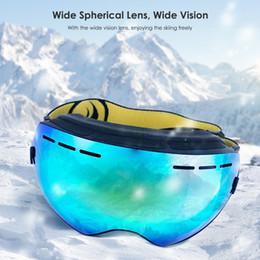 6c3244622df Anti-fog Ski Goggles Double UV Protection glasses Snowboard Men Women  Motocross winter Skiing Glasses Snow Protection Skate Eyewear