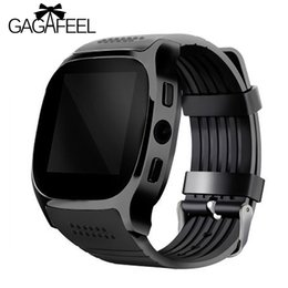 Smart Watch Phone Android Sim Australia - Gagafeel T8 Bluetooth Smart Watch With Camera Facebook Whatapp Support Sim Tf Card Call Men Women's Smartwatch For Android Phone Y19052103