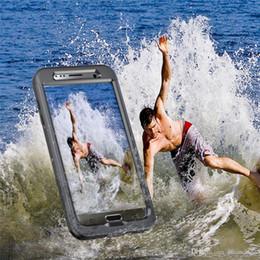 $enCountryForm.capitalKeyWord Australia - Full Protection Phone Cover Waterproof Phone Case For SamsungS7 S7Edge Colorful Plastic Waterproof Case Swim Waterproof Case