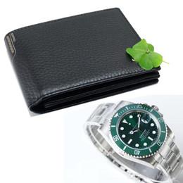 Мужская роскошная сумка бизнес-класса из натуральной кожи MB, черная визитница, классика RX Luxury Watch