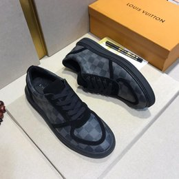 Joker lace online shopping - Joker new hot popular leather casual shoes ladies men s sports shoes fashion leather laces original box