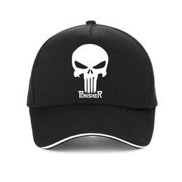 $enCountryForm.capitalKeyWord Australia - Hero USA Punisher SKULL Logo Baseball Cap Sports Snapback Hats adjustable Structured Dad Hat Casual Men Caps casquette bone