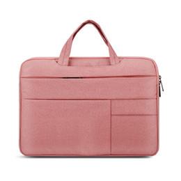 $enCountryForm.capitalKeyWord Australia - Delicate Laptop Sleeve Bag High Quality for Macbook Air 13 Case Nylon Laptop Case 15.6 inch Bags for Men Women Zipper Unisex