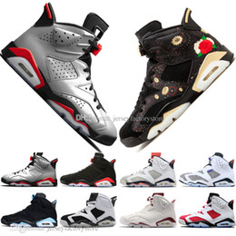 Genuine leather stockinGs online shopping - In Stock Infrared Bred s Mens Basketball Shoes M Reflective Tinker Flint Sport Blue Black Cat Low Chrome Sneakers Designer Trainers