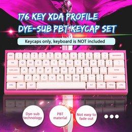 hfsecurity Dva Pink Color 3d Aluminuim Key Cap D Va Keycaps For Mechanical Keyboard