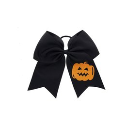 $enCountryForm.capitalKeyWord Australia - 2019 Women Fashion Halloween Bow Children Dress Up Bow Hairs Ring Girls Bowknot Elastic Ribbon Rope Headband Hair Accessories 5 Styles M542A