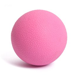 $enCountryForm.capitalKeyWord UK - Hot Sale Rubber 6cm Massage Ball Tool Mobility Trigger Point Body Massager Arm green Leg Muscle Pain Relief Health Care 7 Colors