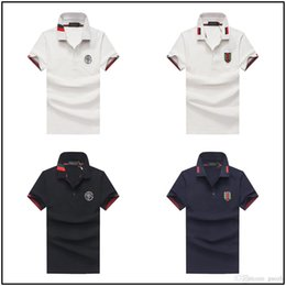 Quick Dry Shirts For Men Australia - 18ss quick-drying golf shirts for men fashionable T-shirt short-sleeved polo shirt for outdoor sports
