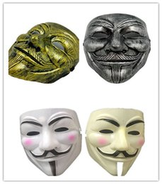 $enCountryForm.capitalKeyWord NZ - Halloween V Word Vendetta Movie Mask Terrorist Ghost Dance Masquerade Mask Dancer Party Street Dance Mask Birthday Party Festive Dress Up