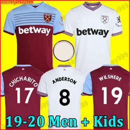 west ham kits 2019 - 19 20 West Ham soccer jersey United 2019 2020 home away NOBLE jerseys ANDERSON ARNAUTOVIC ANTONIO football shirt uniform