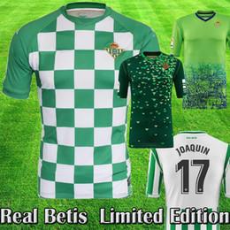 b7084a0d1 2018 19 Real Betis Balompié Soccer Jersey JOAQUIN WILLIAM BARTRA BOUDEBOUZ  Camiseta de fútbol 2018 19 nuevo Betis MANDI TELLO Kit de calidad superior