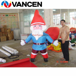 Santa Inflatable Australia - Home use 2m inflatable father christmas decoration lows price inflatable santa claus with free air blower