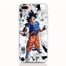 Life Cases Blue Brown Australia - For HTC Desire 12 Plus D12S U12 U11 Life U11 U12 Plus U11 Eyes U Play One A9S soft TPU Print pattern Dragon Ball Z High quality phone cases