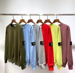 3bae31371c9f 2019 moda caliente logotipo bordado con capucha de los hombres de las  mujeres chaqueta deportiva jogger chándal jersey de lana sudadera impresión  hip hop ...